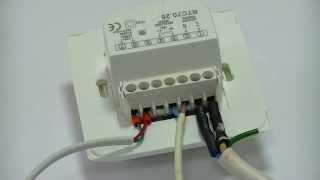 Проверка терморегулятора теплого пола Woks RTC 70.26  (Одескабель)(http://woks.ua/ Бывает что нам возвращают терморегуляторы с диагнозом -