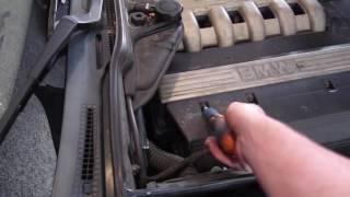 Tuto Mécanique : Vidange BMW 525 E34 TDS