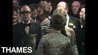 Royal Film Premier | Queen Elizabeth | Lost Horizon | 1973