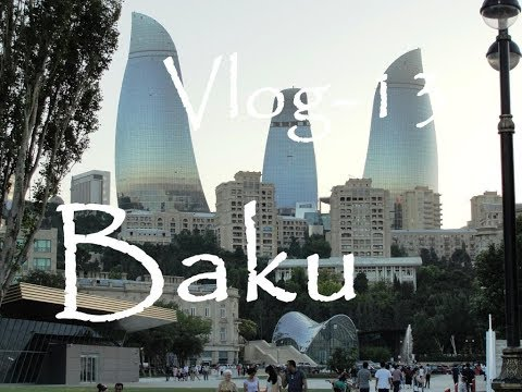 Baku - City Tour - Gymnastik Arena - Athlets Village - Köroglu Metro Station - Azerbaijan / VLOG -13