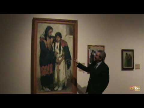 Museum tour with the president and CEO part 1