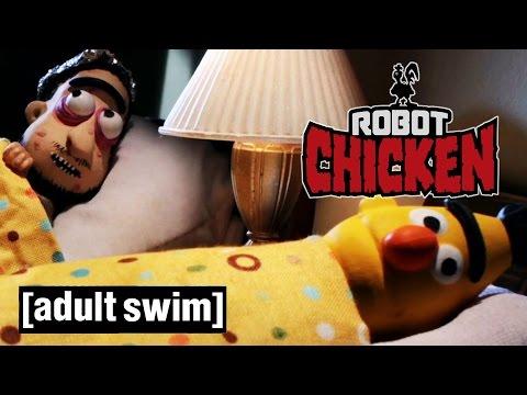 Bert and Ernie get a new roommate | Robot Chicken | Adult Swim