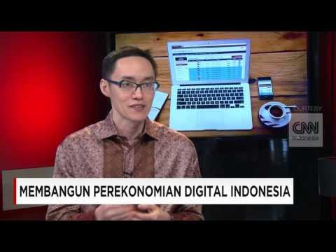 "Talkshow bersama CNN ""Membangun Perekonomian Digital Indonesia"""