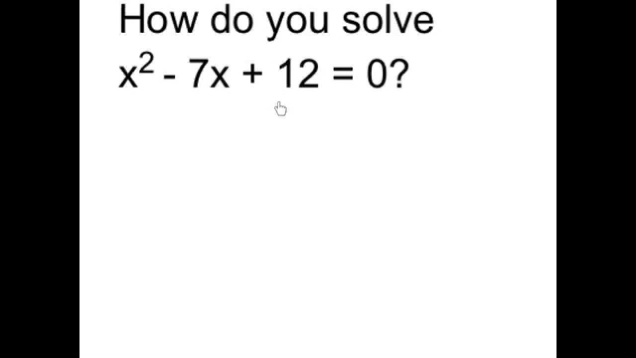 8 1 Solving Equations By Factoring X2 Bx C Answers