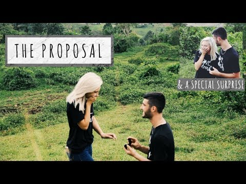 PROPOSING!! TWICE!! ON A MISSIONS TRIP!!  (+ behind the scenes footage)