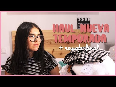 ¡¡¡ HAUL NUEVA TEMPORADA + REMATE FINAL!!!!  ¡TRY-ON!! (Bers