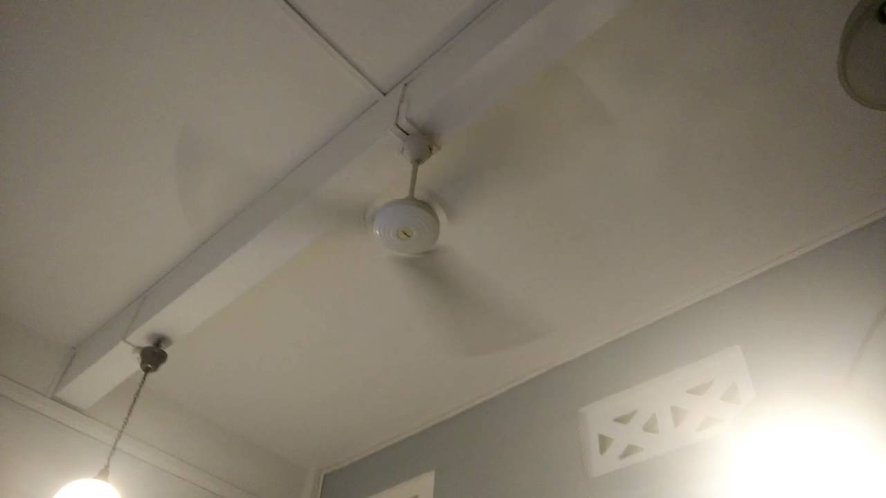 Mistral industrial ceiling fan and unknown brand exhaust fan in an mistral industrial ceiling fan and unknown brand exhaust fan in an office aloadofball Images
