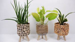 3 Creative Ways t๐ Decorate Your Recycled Plastic Bottles for DIY Planter at Home