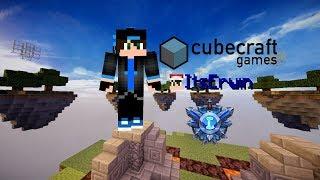I GOT LAPIZ RANK ON CUBECRAFT! (Minecraft Skywars #16)