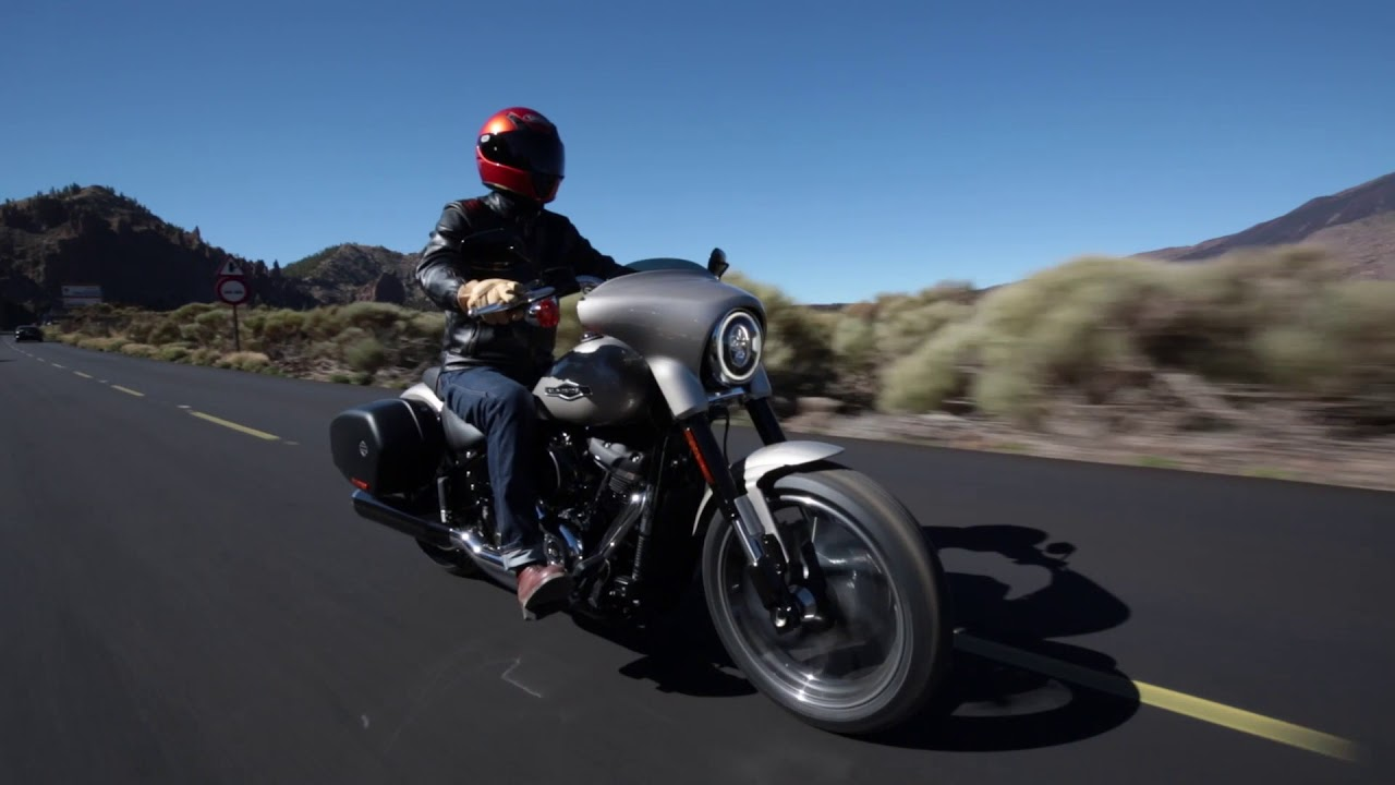 2018 Harley-Davidson Sport Glide – Ride Review - YouTube