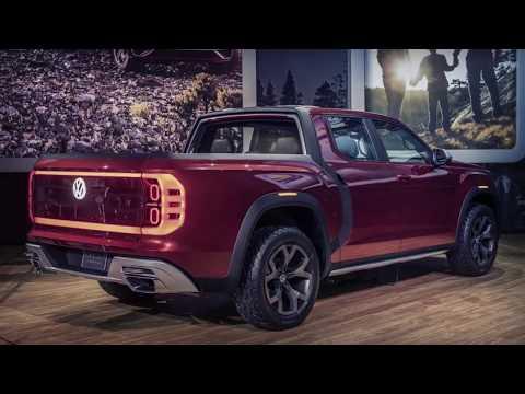 The Volkswagen Tanoak is an Atlas Based Pickup Truck Concept