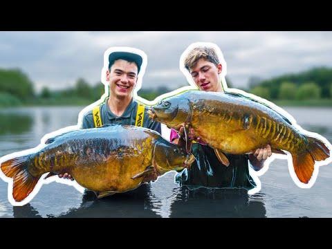 JON B FISHING IN ENGLAND - Behind the scenes with Jon B