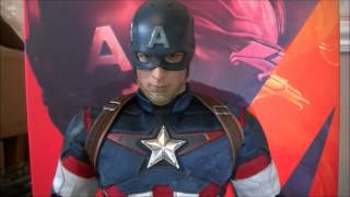 Hot Toys Captain America Age Of Ultron Unboxing