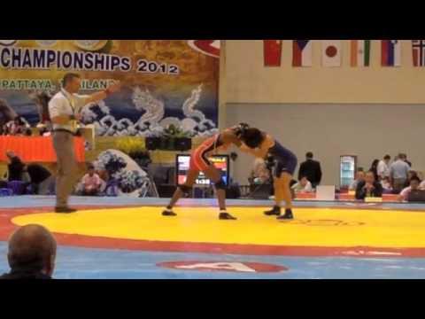 2012 FILA Jr. World Wrestling Championships, Women, Day 2