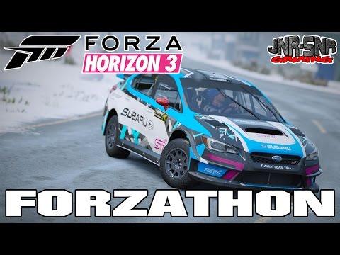 Forza Horizon 3 Forzathon Hall of the Mountain King | Get the Subaru WRX VT15r Rally