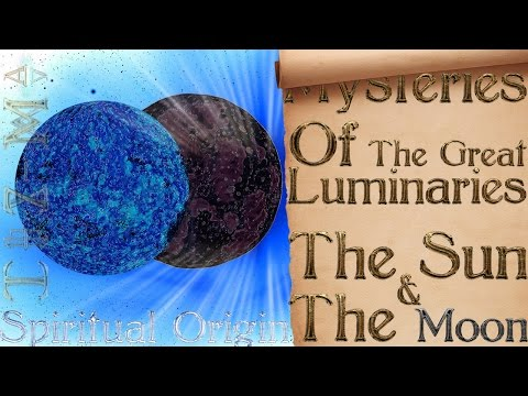 Mysteries Of The Great Luminaries | The Sun & The Moon - Speed Drawing | Commentary