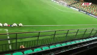 Prazan stadion u Viljnusu