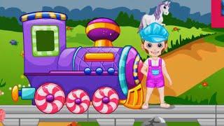 МУЛЬТИКИ ПРО ПАРОВОЗИКИ И ЖЕЛЕЗНУЮ ДОРОГУ Развивающие мультики для детей про поезда