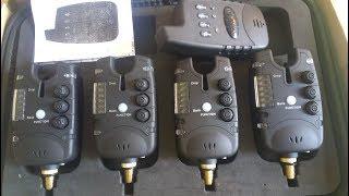 Сигнализаторы поклевки LIXADA , набор 4+1. Обзор !
