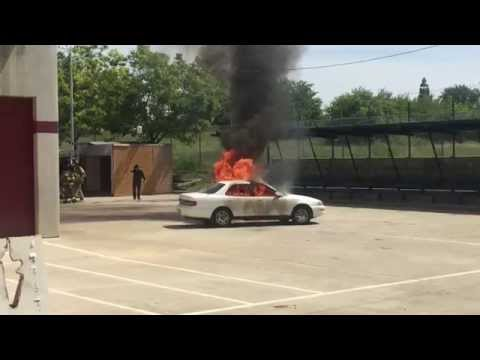 City of Roseville, CA - Film Safety Training Officer Course - Special Effects Demonstration