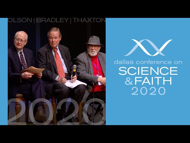 Walter Bradley on Origin of Life Research (Dallas Science Faith Conference 2020 Pt1)