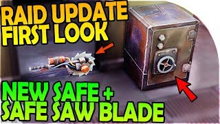 NEW SAFE + SAFE SAW BLADE CRACKER - RAID UPDATE FIRST LOOK - Last Day On Earth Survival 1.6.7 Update