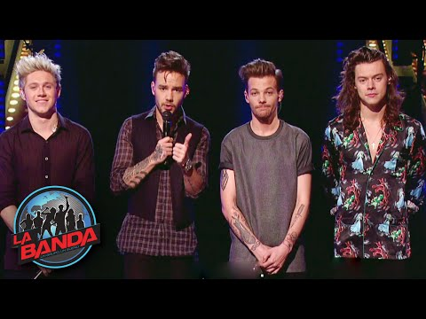 One Direction and Many Other Celebrities Give Advice to the Finalists of La Banda