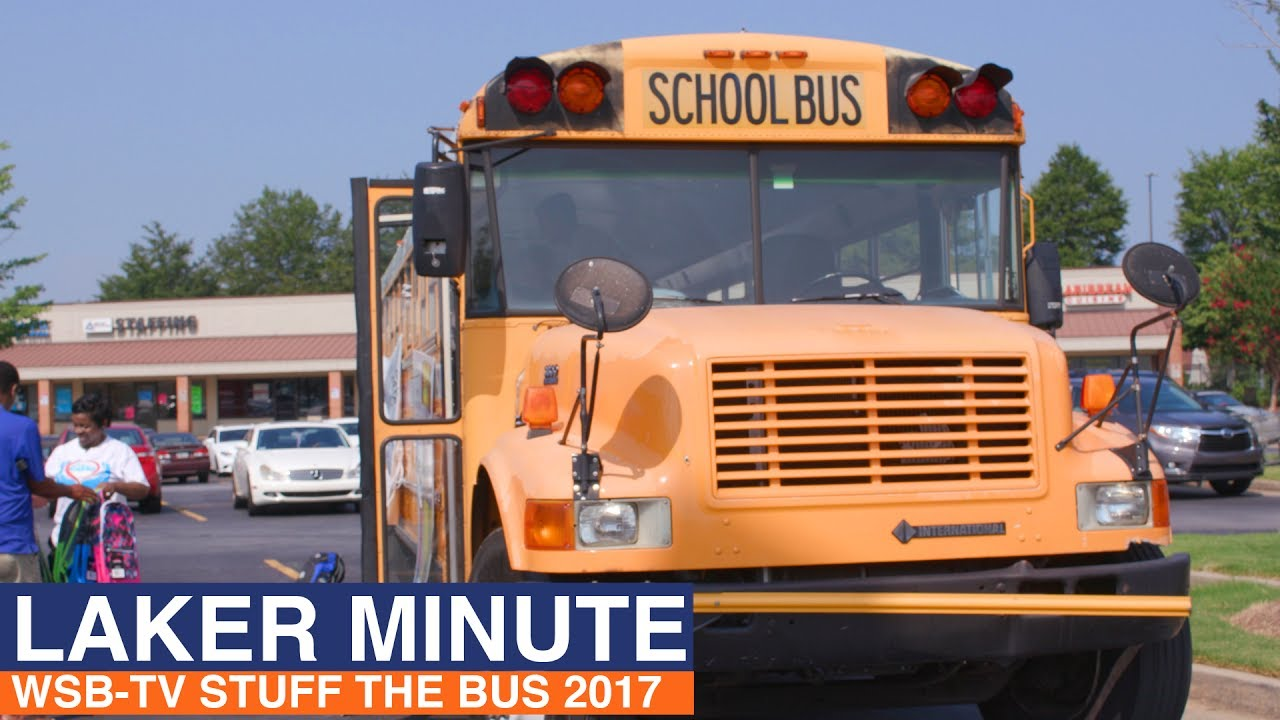 Clayton State University - Laker Minute [WSB-TV Stuff the Bus 2017]
