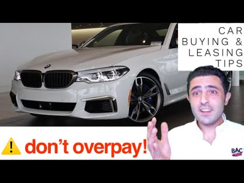 Negotiating A BMW 5 Series Like A BOSS. (Purchase/Lease Tips)