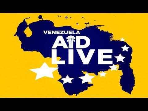 VENEZUELA AID LIVE: ASÍ APOYARON LOS ARTISTAS AL CONCIERTO