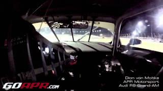 APR Motorsport Audi R8 In Car at Night