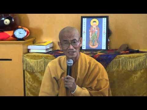 """Sư THÍCH GIÁC ĐĂNG giảng """"TÌM NƠI NƯƠNG TỰA"""" tại chùa Quang Minh Colorado"""
