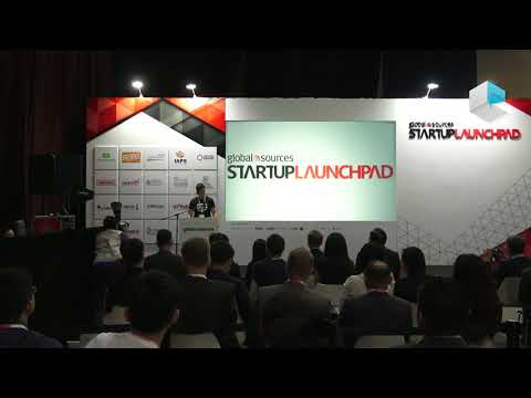 Startup Launchpad at Global Sources Electronics Hong Kong october 2017