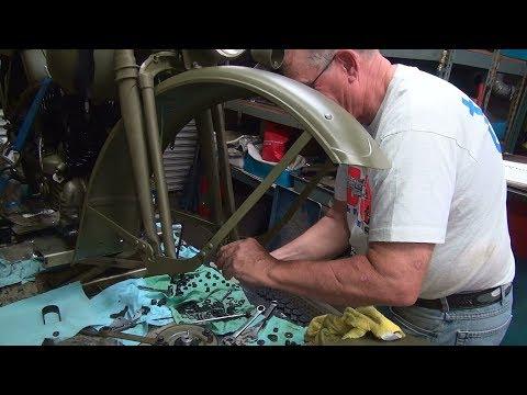 1942 45ci wla type 5  #109 rebuild repair tune-up harley flathead sidevalve by tatro machine