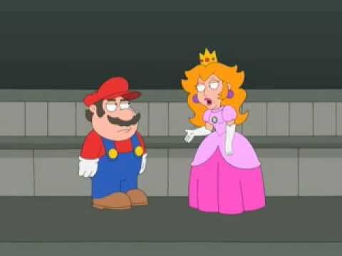 Гриффины - Марио спасает принцессу!