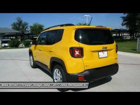 2017 Jeep Renegade Granbury Tx F52747 Youtube