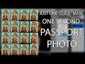 Ek click mein hi passport size photo kaise banate hein. fast trick in photoshop