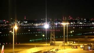 London's Heathrow Airport Night Departures Summer 2015