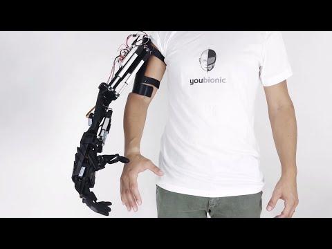 This 3D-printed robotic hand can make lifelike movements