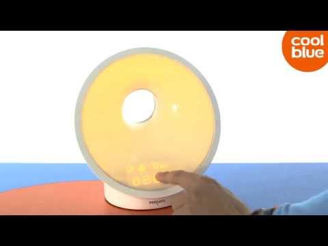 Philips Sleep en Wake-Up Light HF3650/01 Lichtwekker Review (Nederlands)