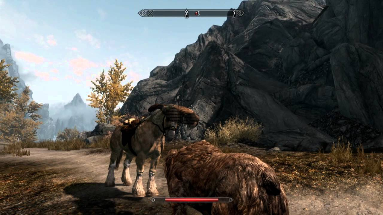 how to call your horse in skyrim