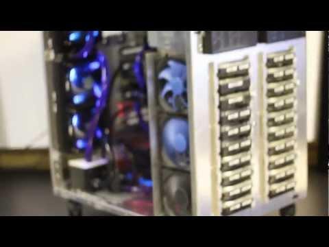 Lian Li - PC-D8000 150TB Server Build by Server-Tech