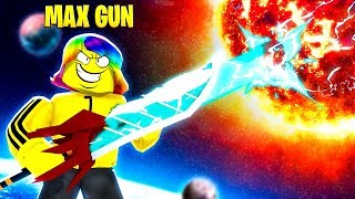 I DESTROYED the SUN with 100,000,000,000 GUN POWER (Roblox)