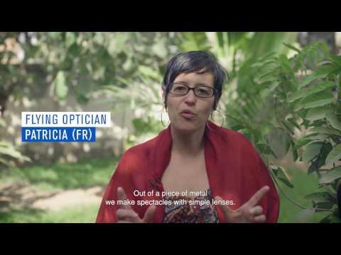 Hoya's Flying Opticians visit One Dollar Glasses in Burkina Faso
