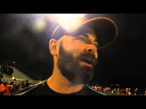 Oakland Mills football coach Thomas Browne 9/19/14