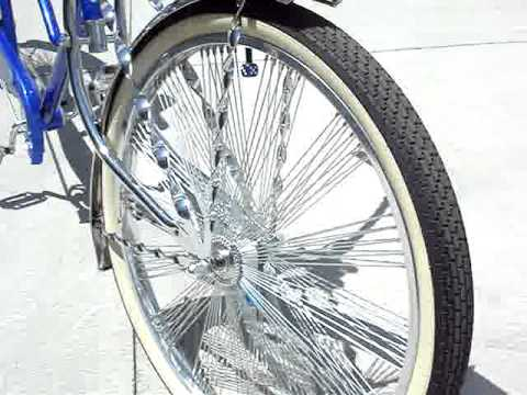 lowrider stretch bike ... limo cruiser - YouTube