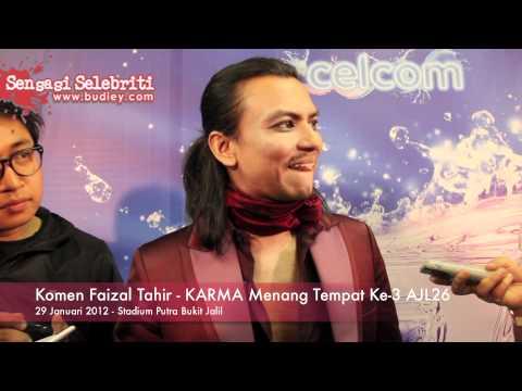 Komen Faizal Tahir   KARMA Menang Tempat Ke 3 AJL26
