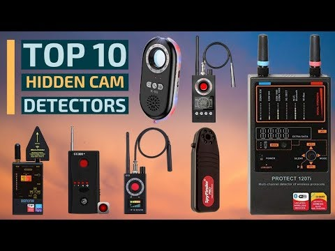 Top 10: Best Hidden Camera Detection Tools In 2019 / Rf Detector, Bug Detector, Gps Detector