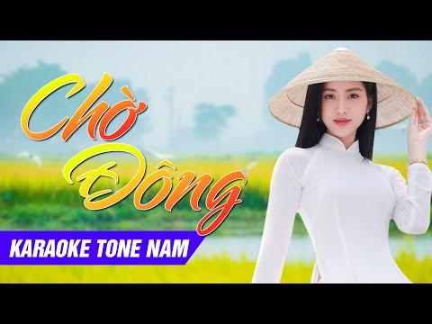 [Karaoke] Chờ Đông - Karaoke full beat