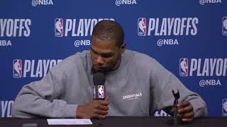 Kevin Durant Postgame Interview - Game 3 | Warriors vs Rockets | 2019 NBA Playoffs
